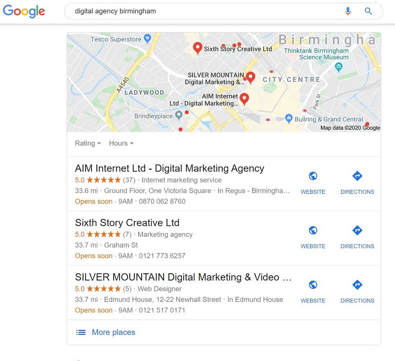 local marketing agency Birmingham